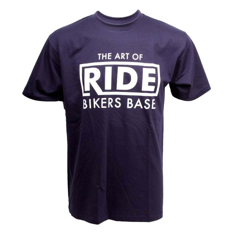 bikers-base-the-art-of-ride-t-shirt copy